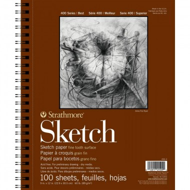 Strathmore 400 Series Sketch Pad, 9