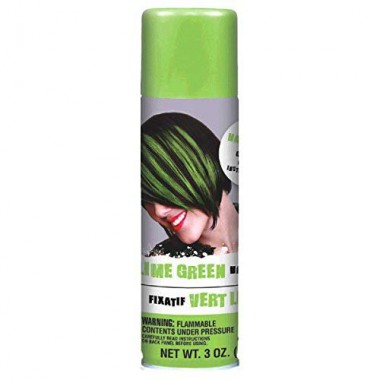 AMSCAN Green Hair Spray Party Supplies, 3 oz