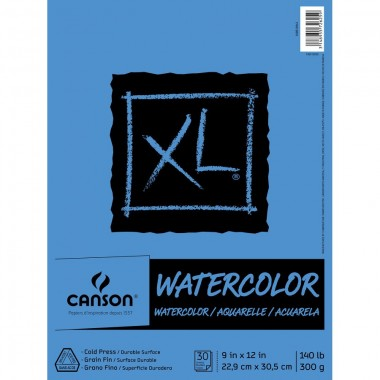 Canson XL Series Watercolor Pad, 9