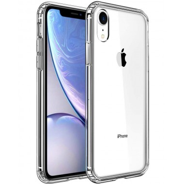 Mkeke Compatible with iPhone XR Case,Clear Anti-Scratch Shock Absorption Cover Case for iPhone XR Clear