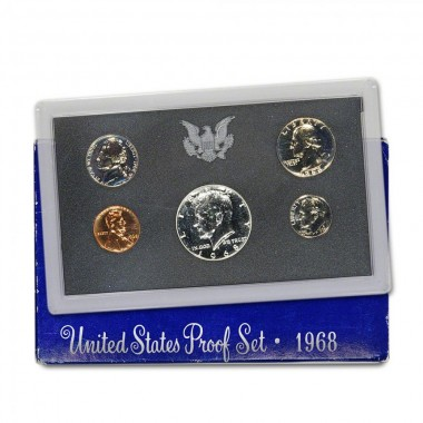 1968 S US Proof Set Original Government Packaging