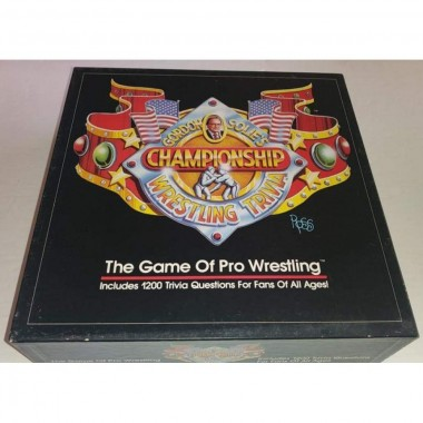 GORDON SOLIE'S CHAMPIONSHIP WRESTLING TRIVIA GAME BOARD GAME
