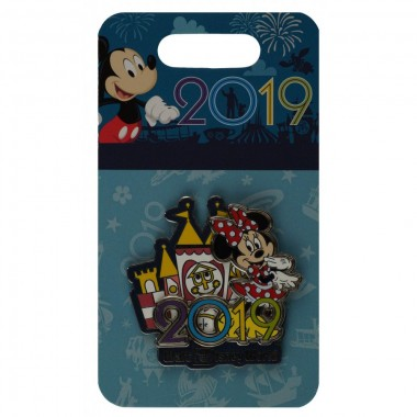 Disney Pin - 2019 - Minnie Mouse