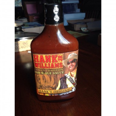 Hank Williams Jr. BBQ Sauce Original Family Tradition