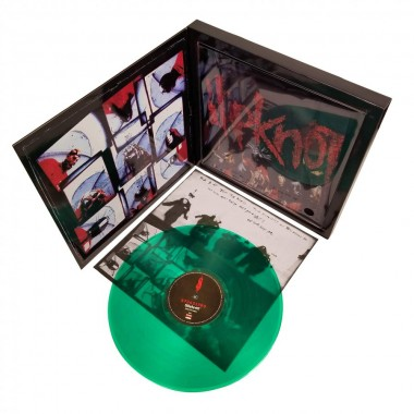Slipknot 2009 Road Runner Records Green Vinyl LP Album & Tee Shirt Box Set - Size Medium