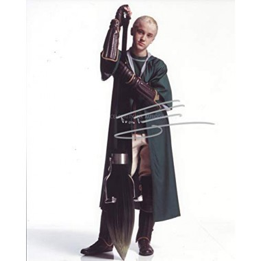 TOM FELTON as Draco Malfoy - Harry Potter GENUINE AUTOGRAPH