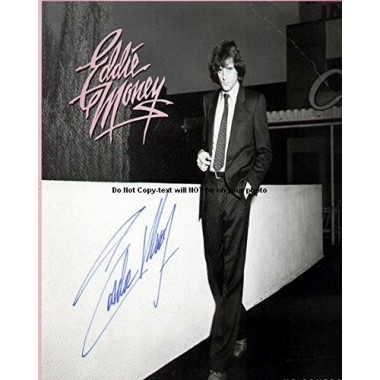 Eddie Money No Control Autographed Preprint Signed Photo