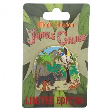 WDW Trading Pin - WDW 45th Anniversary - Jungle Cruise