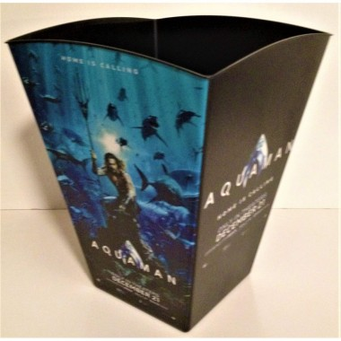 DC Comics: Aquaman 2018 Movie Theater Exclusive 170 oz Plastic Popcorn Tub