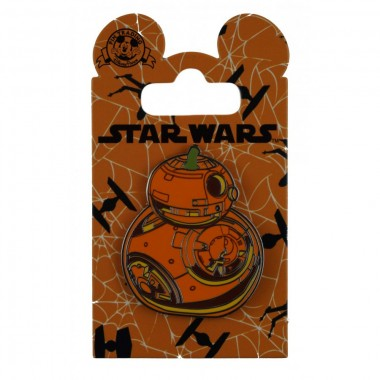 Disney Pin - Star Wars - BB-8 Pumpkin
