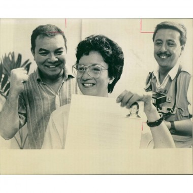Vintage photo of Guillen laurice:
