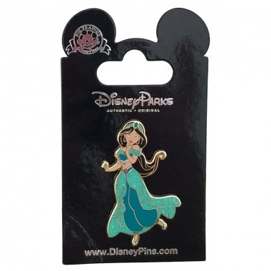 Disney Pin - Glitter Princess - Jasmine
